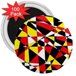 Shattered Life With Rays Of Hope 3  Button Magnet (100 pack)
