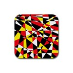 Shattered Life With Rays Of Hope Drink Coasters 4 Pack (Square)