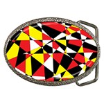 Shattered Life With Rays Of Hope Belt Buckle (Oval)