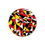 Shattered Life With Rays Of Hope Drink Coaster (Round)
