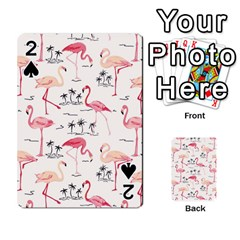 Flamingo Pattern Playing Cards 54 Designs  by Contest580383