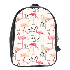 Flamingo Pattern School Bags (xl)  by Contest580383
