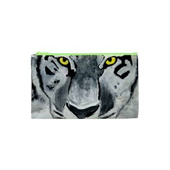 The Eye Of The Tiger Cosmetic Bag (xs) by timelessartoncanvas