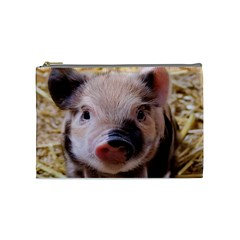 Sweet Piglet Cosmetic Bag (medium)  by ImpressiveMoments
