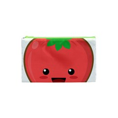 Kawaii Tomato Cosmetic Bag (xs) by KawaiiKawaii