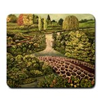 Country Waterfall by Ave Hurley - Large Mousepad