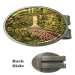 Country Waterfall by Ave Hurley - Money Clip (Oval)
