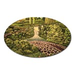 Country Waterfall by Ave Hurley - Magnet (Oval)
