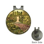 Country Waterfall by Ave Hurley - Golf Ball Marker Hat Clip