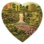 Country Waterfall by Ave Hurley - Jigsaw Puzzle (Heart)