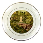 Country Waterfall by Ave Hurley - Porcelain Plate
