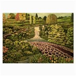 Country Waterfall by Ave Hurley - Large Glasses Cloth