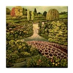 Country Waterfall by Ave Hurley - Face Towel