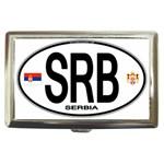 SRB - Serbia Euro Oval Cigarette Money Case
