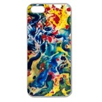 Colors by Jandi Apple Seamless iPhone 5 Case (Clear)