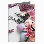 White Holy Bible Spring Flowers Christian Religious Greeting Cards (Pkg of 8)