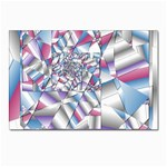 Picasso Speaks Stained Glass Fractal Postcards 5  x 7  (Pkg of 10)