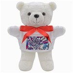 Picasso Speaks Stained Glass Fractal Teddy Bear