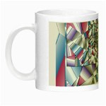 Picasso Speaks Stained Glass Fractal Night Luminous Mug