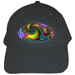Lucy in the Sky With Diamonds Fractal Black Cap