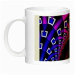 Groovy 60s Shag Fractal Night Luminous Mug