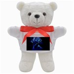 Gothic Blue Ice Crystal Palace Fantasy Teddy Bear