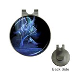 Gothic Blue Ice Crystal Palace Fantasy Golf Ball Marker Hat Clip