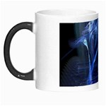 Gothic Blue Ice Crystal Palace Fantasy Morph Mug
