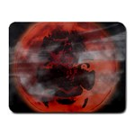 Bloody Gothic Demon Skull Moon Goth Art Small Mousepad