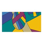 Unknown Abstract Modern Art By Eml180516 Satin Shawl