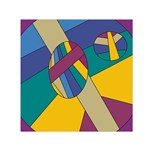 Unknown Abstract Modern Art By Eml180516 Small Satin Scarf (Square)