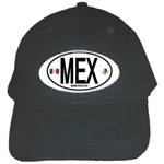 MEX - Mexico Euro Oval Black Cap