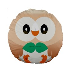 Rowlet Pillow from ULTRACRYSTAL AESTHETIQUES Front