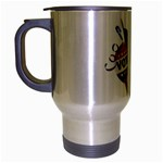 Vote Presidential Election Travel Mug (Silver Gray) from DesignYourOwnGift.com Left