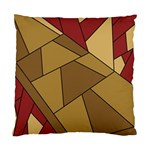 Modern Art Urban Jungle Tower Brown Red Standard Cushion Case (Two Sides)