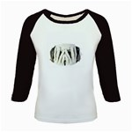Rebirth of the Dead Gothic Face Art Kids Baseball Jersey
