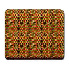 Colorful Kente Pattern2 Large Mousepad from Saytoons Front
