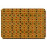 Colorful Kente Pattern2 Large Doormat
