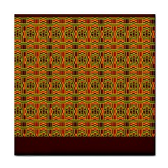 Colorful Kente Pattern2 Face Towel from Saytoons Front