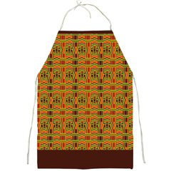 Colorful Kente Pattern  Full Print Apron from Saytoons Front