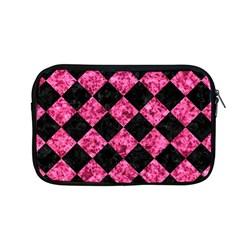 Square2 Black Marble & Pink Marble Apple Macbook Pro 13  Zipper Case by trendistuff