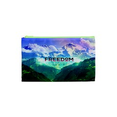 Freedom Cosmetic Bag (xs) by Brittlevirginclothing