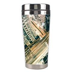 Architecture Buildings City Stainless Steel Travel Tumblers by Amaryn4rt