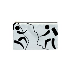 Mountaineering Climbing Pictogram  Cosmetic Bag (small)  by abbeyz71