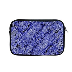 Texture Blue Neon Brick Diagonal Apple Macbook Pro 13  Zipper Case by Amaryn4rt