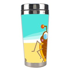 Animal Nature Cartoon Bug Insect Stainless Steel Travel Tumblers by Nexatart