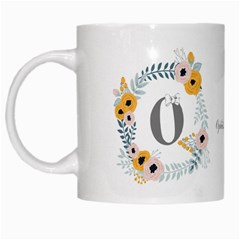 Flower Rose White Coffee Mug by makeunique
