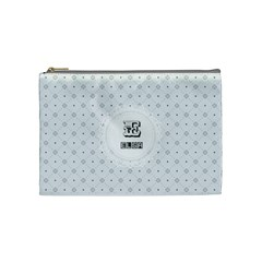 E For Elsa Cosmetic Bag (medium) by daydreamer