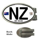 NZ - New Zealand Euro Oval Money Clip (Oval)