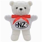 NZ - New Zealand Euro Oval Teddy Bear
